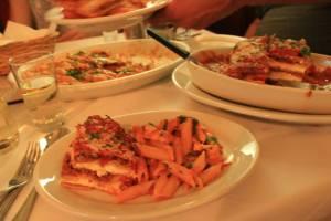 Dinner at Carmines