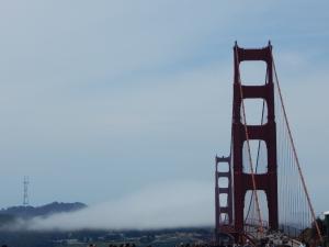 San Fran's famous sea fog